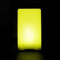 bar table light - piece colorful changeable rechargeable quadrate LED bar table lamp dimmable led night light for bar decoration