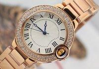 ballon dress - 2016 Dress Luxury Watch women men watches Diamond dials Top Brand C Stainless steel Quartz Wristwatches Ballon Blue Relojes