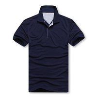 Wholesale Polos men s SHIRT MENS polos shirts simplicity Brand men lapel t shirt Men s T shirt men short sleeve polo shirt