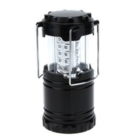 Wholesale 30 LED Ultralight Collapsible Camping Lantern Outdoor Hiking Fishing Emergency Lamp