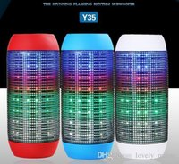 big retail - Retail New Pulse speaker pill bluetooth speaker Bluetooth audio wireless big sound box support TF card portable Speakers with LED light FM