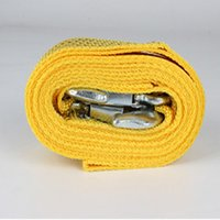 Wholesale Tow rope Car nylon vehicle towing coupler Fluorescent traction rope Outdoor emergency tool m tons