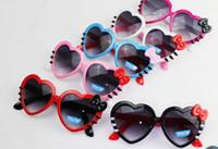 adult baby waterproof - hot selling Children sunglasses hearts sunglasses tide girls love cute baby girls sunglasses chil protection glasses sunglasses kids glasses