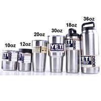 Wholesale Yeti oz oz oz Rambler Tumbler Bilayer Insulation Cups Cars Beer Mug Large Capacity Mug Tumblerful DHL OTH242