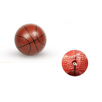 Wholesale 100 sets Mini Children Inflatable Pat Ball Small Toy Kids Sports Basketball with Pump K50002