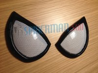 Wholesale marvel Halloween Amazing SpiderMan Costume lenses Eyes mask Frames lens Cosplay pairs