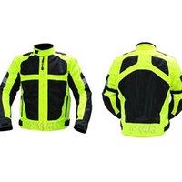Wholesale 2016 new summer breathable mesh Moto Jacket men women Motorcycle Racing jacket Reflective plus size M L XL XXL XXXL