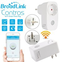 Wholesale Broadlink Sp3 SP CC A Timer EU US mini wifi socket plug outlet Smart remote wireless Controls for iphone ipad Android