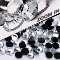 aa heating - AA Quality SS34 mm Bag Clear Crystal DMC HotFix FlatBack Rhinestones strass for DIY Heat transfer Hot Fix stones M67895