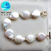 affordable pearl jewelry - various color AA grade mm high luster affordable coin pearl jewelry pearl bracelets for