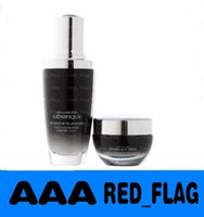 Wholesale New Black bottles ml eye cream ml face Cream Advaced serum for lines wrinkles age spots Activating Skin care set anty age LLFA1013