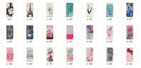 apple tower case - For Iphone i7 Plus Galaxy Note Note7 J3 Dreamcatcher Eiffel Tower Flower Wallet Leather Anchor Flip Cover Owl Wave Butterfly Owl Pouch