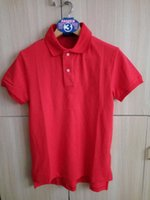 Wholesale 2016 Top Quality Brand Small horse Polos Men s Short Sleeve Solid Casual Polo Ralphly Men Cotton Euro Size Loose Polo Shirts