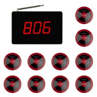 Wholesale SINGCALL Calling System small display big screen SC R15 and red buttons for customers