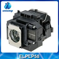 Wholesale Accessories Parts Projector Bulbs Replacement Projector Lamp ELPLP58 V13H010L58 for EB S10 EB S9 EB S92 EB W10 EB W9 EB X10 EB X9
