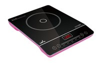 Wholesale Electrical cooker electrical hot plate Chinese Red and Rose Pink No electromagnetic radiation fit to any pan healthy and ECO friendly