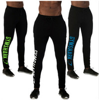 Wholesale New Casual Fitted Tracksuit Bottoms Golds Gym Pants Mens Sports Joggers Elastic Sweat Pants Gymshark Bodybuilding Sweatpants