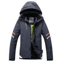 Wholesale winter ski suit thickening outdoor jacket waterproof hiking skiing jackets mens winter ski mens Breathable skiing jackets