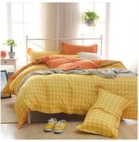 Wholesale Solid spring and summer fashion simple bed Li bedding m dormitory sanding quilt kit