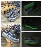 aa cycles - Cheap Hot Grey Orange Kanye West Boost V2 Running Casual Shoes AA High Quality Size Sport Grey Sneakers