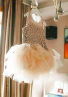 beautiful metallic material - 2016 Summer Korean Style Children Girls Dancing Show One piece Princess Dress Golden Lace Fashion Best Designed Beautiful Material Cotton