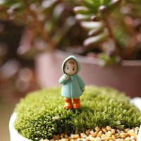 Wholesale 600pcs Cute Mini Figurines Miniature Girl Mei Resin Crafts Ornament Fairy Garden Gnomes Moss Terrariums Home Decorations ZA0525