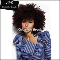Wholesale High Quality Lace Front wig Brazilian Short Hair Afro Curly Machine Made Wigs For Black Women
