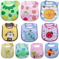 bandana clothing patterns - Lovely Babero Cartoon Baby Bib Cotton Waterproof Bandana Bibs Children Multi Pattern Bids Clothes Infant Towels Babero