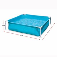 baby swimming bathtub - Baby Swimming Pool Piscina for Newborn Infant Portable Outdoor Children Basin Bathtub for Bath Fishing Bracket Pool