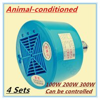 Wholesale Sets Animal conditioned W W W Pet heat lamp Pig Heater Chicken heating lamp Animals heating lamp New Animal cage