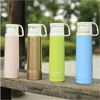 Wholesale Manufacturers supply Korean cartoon portable thermos cup with cup airpots four