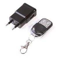 Wholesale Mini P HD DVR SPY Hidden Camera US EU Plug Charger Cam Motion detection DV Video Recorder