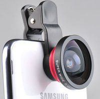 Wholesale mobile phone x super wide angle clip cellphone lens for plus Galaxy S3 S5 note lens