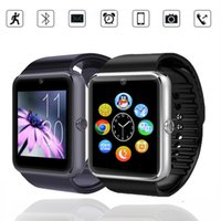 Wholesale GT08 bluetooth smartwatch GT08 NFC multi function watch phone card smart watches Smart Android Watch Phone Couples watch