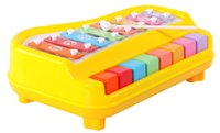 Wholesale Children s Books drag knock piano small riders infant baby musical toys pull octave Xiaoqin