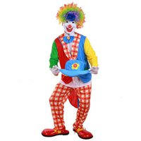 adult only costume - Halloween Adult Funny Clown Costume Various Clown Suit Masquerade Birthday Party Ten Styles Unisex Only One Average Size