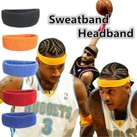 Wholesale Sports Safety Breathable Exercise Sweatband Cotton Elastic Headband Outdoor Running Cycling outdoors sports Accessories C0014