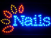 Wholesale 2016 Sale Top Fasion indoor Graphics Inch Nails Shop Led Ultra Bright Neon Sign