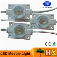 advertising led light box - Outdoor waterproof SMD W High Power LED Modules Light With Lens DC12V Sidelight For LED advertising Light Box LED Channel Letters