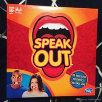 Wholesale Speak Out Game Best Selling Board Game Interesting Party Game Pie Face Of with high quality