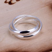Wholesale R167 Lose Money Promotions silver classic ring silver fashion jewelry fashion classic ring