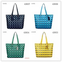 Wholesale 2016 Spring Smiley PU Leather Tote Bag Women Trapeze Fashion Designer Handbags High Quality Ladies Bags Vintage Crossbody BagsEuropean and A