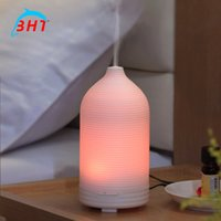 air freshener light - Ultrasonic Cool Mist Aroma Humidifier Aromatherapy Essential Oil Diffuser Humidifier Air Freshener With Led Light Nights