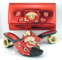 bag station - African lady Dreaming fashion shoes Matching bag FOR party and many station VE