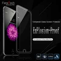Wholesale High quality For iphone7 Plus S Plus D H Premium tempered glass Film screen protector for cell phone Samsung Galaxy S6 Note5 S5