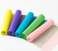 Wholesale Tension Resistance Band Pilates Yoga Rubber Resistance Bands Fitness Loop rope Stretch Nnatural Latex Environmental Tasteless