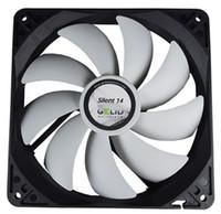 GELID ventilador silencioso de 14cm silencioso a baja velocidad 14 (FN-SX14-10) para la caja de la computadora