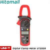 Wholesale Proffesional Brand New Manual Range Count Resistance Digital Clamp Meter UNI T UT200A