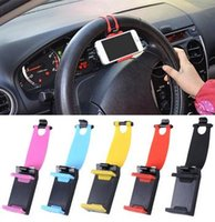 apple color wheel - Universal Car Steering Wheel Mobile Phone Holder Bracket for iPhone Xiaomi Samsung Huawei Meizu GPS Width of suitable mm mm