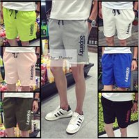 Wholesale Men Summer Beach Shorts Casual Swim Pants Cargo Shorts Outdoor Loose Running Shorts Men Shorts Pocket Pants Beach Pants Half Pants